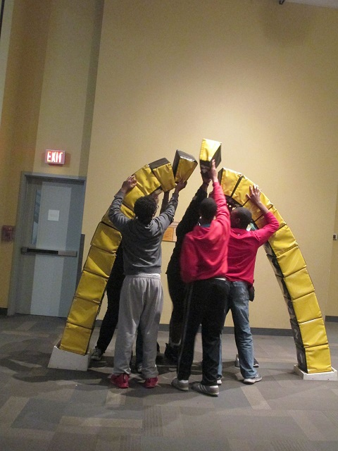 Teamwork at the St. Louis Science Center